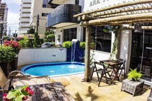 The swimming pool at or near Ara Mar Praia Hotel