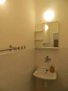 Koupelna v ubytování Penzion u Bumanů