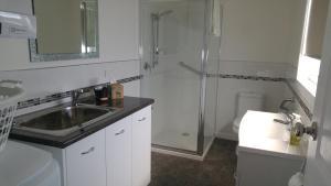 A kitchen or kitchenette at Little Sunnyside Accommodation