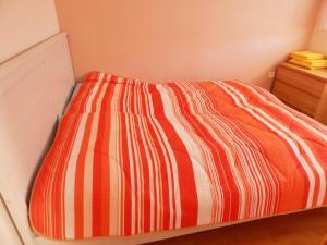 Postel nebo postele na pokoji v ubytování Chalupa u dedu a babky