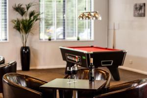 A pool table at ibis Preston North