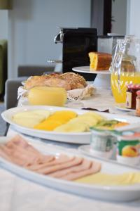 Opciones de desayuno disponibles en Quinta dos Meireles