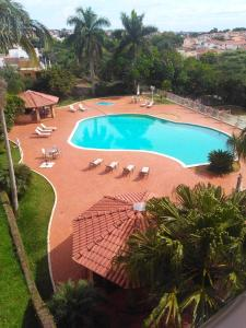 A view of the pool at Bekassin Botucatu Hotéis Ltda or nearby