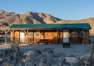 Panamint Springs Motel & Tents during the winter