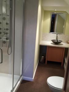 A bathroom at Lodge at Lochside