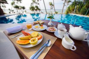 Завтрак для гостей Ananya Beach Resort