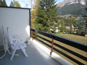 A balcony or terrace at La Schmetta 5 (334 Fo)