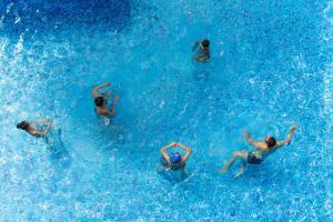 The swimming pool at or near Baan Laimai Beach Resort & Spa