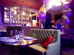 Лаундж или бар в Апарт-отель Pulkovo Transit