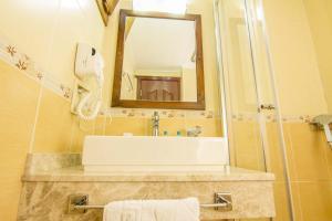 A bathroom at Unsal Hotel