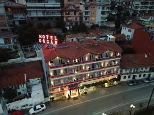 Άποψη από ψηλά του Oscar Hotel