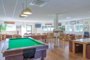 A pool table at The Wiltshire