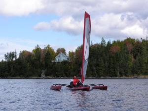 Windsurfing at the vacation home or nearby