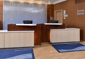 The lobby or reception area at Fairfield Inn & Suites by Marriott Albany Downtown