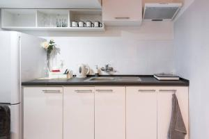 Kuchnia lub aneks kuchenny w obiekcie studio blizniacze