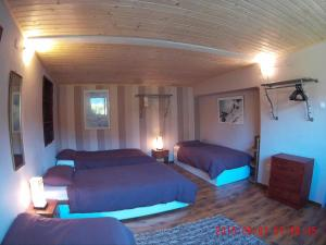Posteľ alebo postele v izbe v ubytovaní Mikulas Guest House