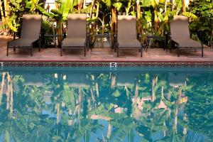 The swimming pool at or close to Hotel California