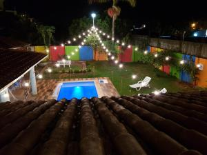Vista de la piscina de Teko Arte Hostel & Bar o alrededores