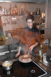 Staff members at Hotel Restaurant Ölmühle
