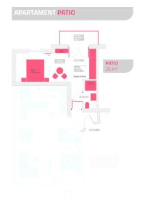 The floor plan of Parkowa