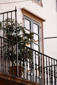 Un balcón o terraza de Hotel Altaïr