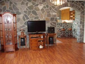 TV in/ali zabaviščno središče v nastanitvi Apartments Ananina