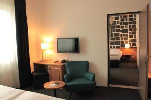 TV/Unterhaltungsangebot in der Unterkunft Hotel Hamburg-Wittenburg van der Valk