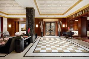 The lobby or reception area at JW Marriott Essex House New York