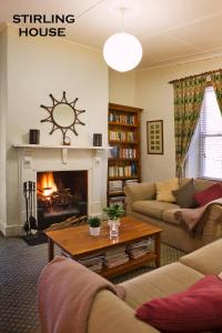 A seating area at Crafers Cottages