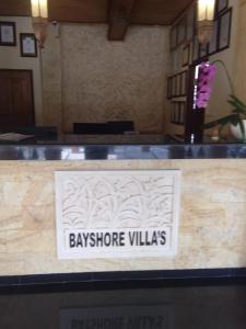 The lobby or reception area at Bayshore Villa