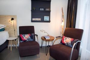 A seating area at Studio-Vrij