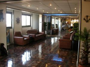 The lobby or reception area at High way Hotel