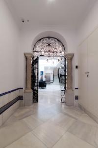 El vestíbulo o zona de recepción de Casa Gloria Apartments