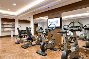 Sporto salė apgyvendinimo įstaigoje Radisson Blu Hotel, Kyiv Podil City Centre