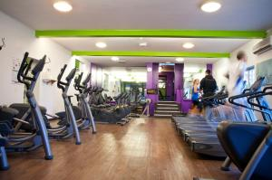 The fitness centre and/or fitness facilities at Manchester Airport Stanley Hotel, BW Signature Collection