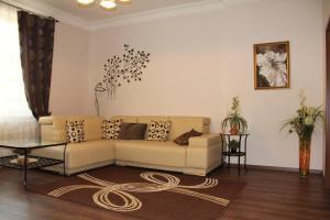 Posezení v ubytování Jurincom apartments
