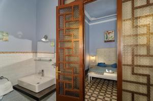 A bathroom at Hotel Giardino