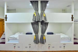 Litera o literas de una habitación en Backpacker Hostel