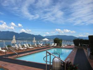 The swimming pool at or near Pan Pacific Vancouver Hotel