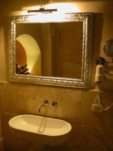 A bathroom at Al Pozzo dei Desideri