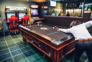 A pool table at Hornsby Inn