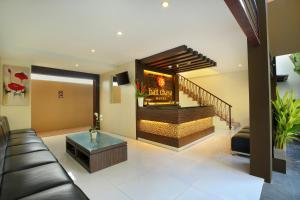 The lobby or reception area at Bali Chaya Hotel Legian
