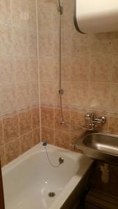 A bathroom at Budnika