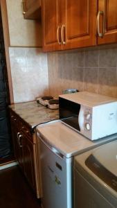 A kitchen or kitchenette at Budnika