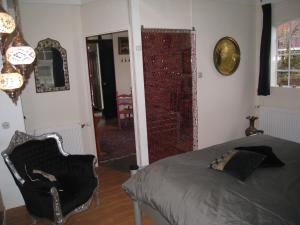 Een bed of bedden in een kamer bij Janz