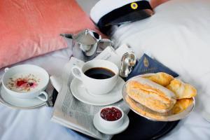 Frukostalternativ för gäster på Grand Hotell Hörnan