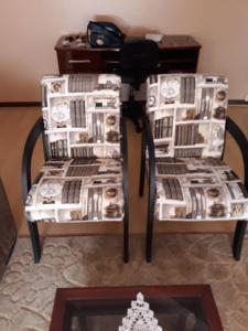 A seating area at Apartamento Centro Caxias