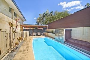 The swimming pool at or near 143 Matthew Flinders Drive, Port Macquarie