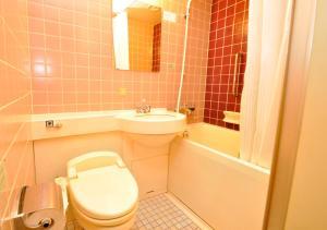 A bathroom at APA Hotel Nagoya Nishiki Excellent