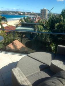 The swimming pool at or near Queenscliff beach apartment
